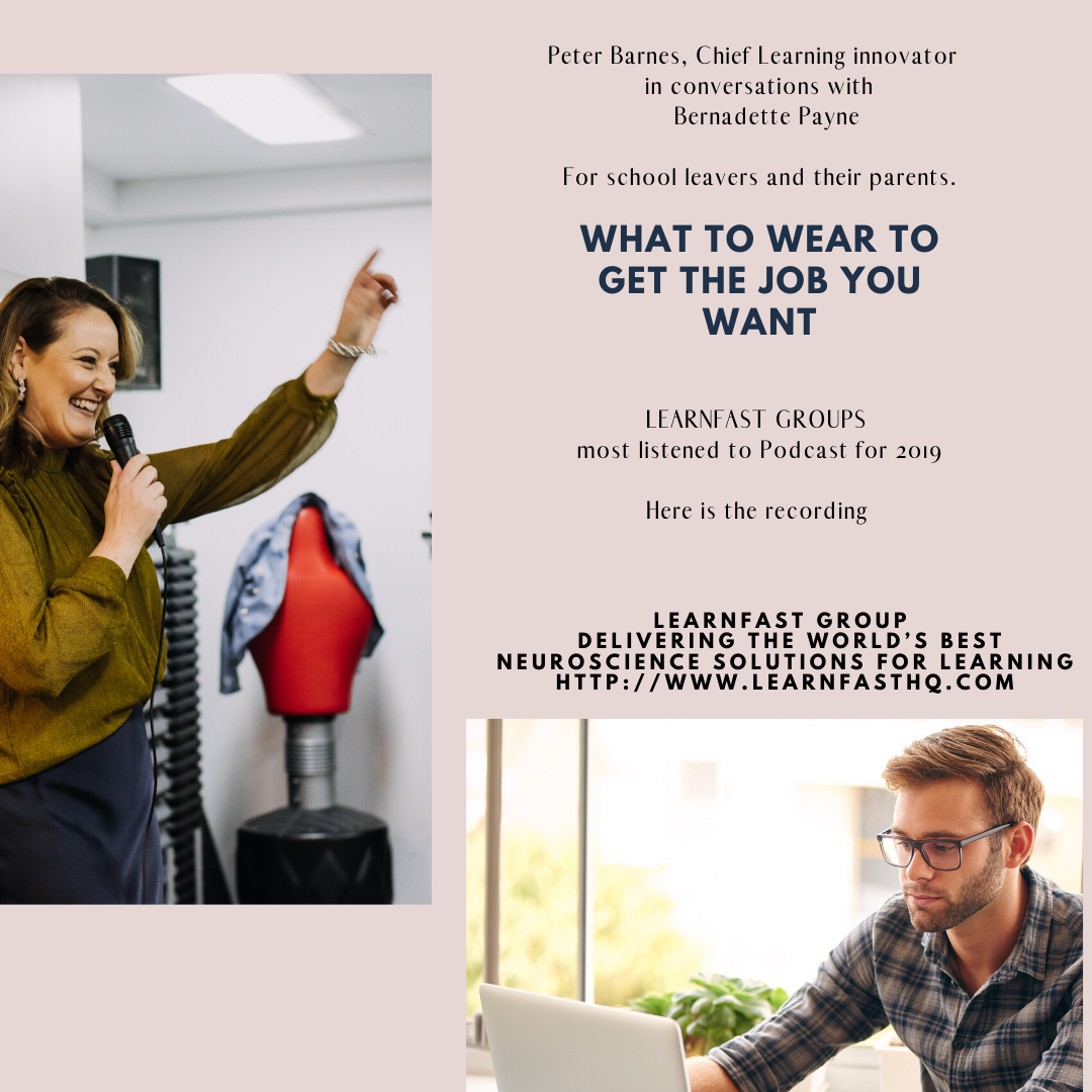 What to Wear To Get The Job You Want - podcast