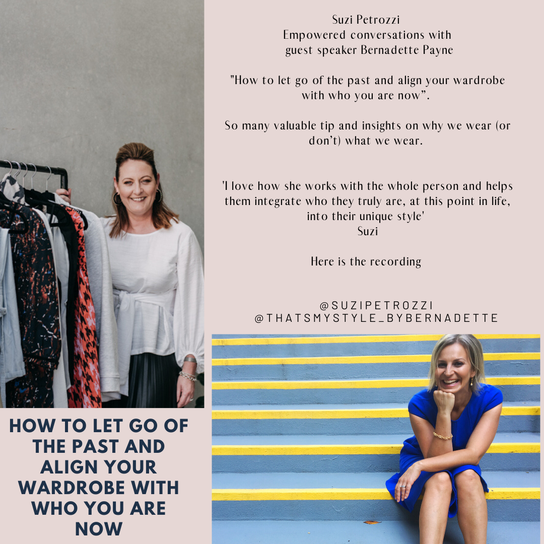 How to let go of the past and align your wardrobe with who you are now